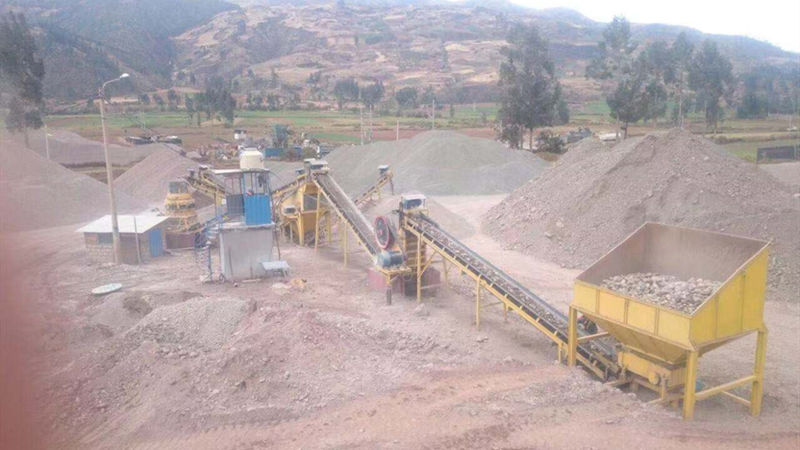 120tph River Pebble Crushing Plant In Peru