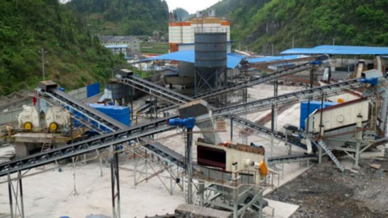 300tph Aggregate Sand Making Plant In Vietnam