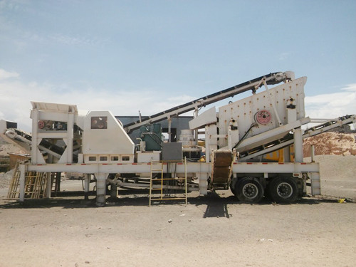 KY Series 4IN1 Portable Crushing & Screening Plant
